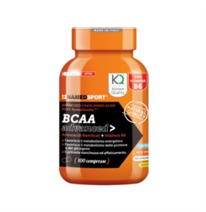 Named Sport Linea Integrazione Sportiva BCAA Advanced Integratore 100 Compresse