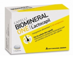 Biomineral Linea Hair Terapy One con Lactopil Plus Capelli Deboli 30 Compresse