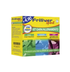 Friliver Linea Vitamine Minerali Sport Long Energy Kit Gara/Allenamento Integrat