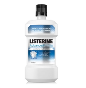 Listerine Linea Igiene Orale Quortidiana Advanced White Colluttorio 250 ml